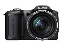 Nikon COOLPIX L100 10.0 MP Digital Camera - Black