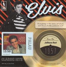 Palau 2012 MNH Elvis Presley Classic Hits 35th Anniv Jailhouse Rock 1957 1v S/S