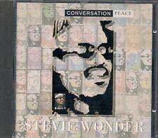 CD ALBUM 13 TITRES--STEVIE WONDER--CONVERSATION PEACE--1995