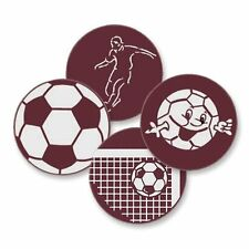 Décoration chocolat plat ballons de football cupcake topper gâteau décoration fun cheeky