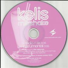 KELIS Milkshake MIX & INSTRUMENTAL PROMO DJ CD Single w/ Neptunes N.E.R.D. nerd