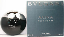 AQVA by Bvlgari for Men 1.7/1.6 oz Eau de Toilette Spray Brand New In Box