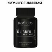 KOMILFO Gel Nail Polish Rubber Base&Top, Matte Top, No Wipe Top, X-Base,Gel Base