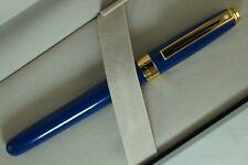 Cross Sheaffer legacy Signature , Cobalt Blue & Solid 14KT Gold nib Fountain Pen