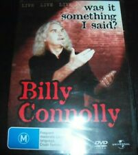 Billy Connolly Was It Something I Said  (Australia Region 4) DVD – New