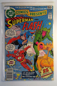 DC Comics Presents #2 (1978) DC FN- Comic Race to the End of Time Superman/Flash