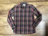Filson Plaid Shirt sz Medium Red Green Brown