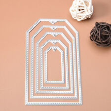 Rectangle Metal Cutting Dies Stencil Scrapbooking Embossing Album Card Craft