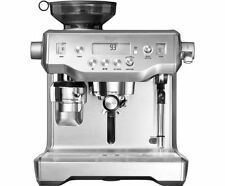 Sage The Oracle Espresso Coffee Maker Machine Automatic 15 Bar BES980UK Silver-