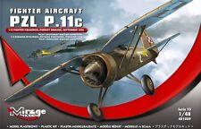 PZL P.11 C ( POLONAIS AF SIGNALISATIONS, SEPTEMBRE 1939) 1/48 MIRAGE