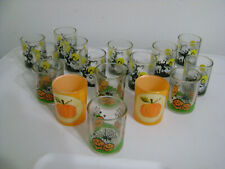 """Halloween Glass 2 1/2"""" Candle Holders Lot Of Sixteen (16) Pumpkins/Ghosts New"""