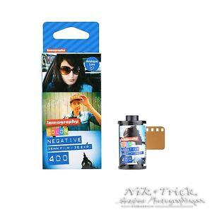 Lomography Colour Negative Film 400asa ~ 35mm 36 Exposure Triple Pack