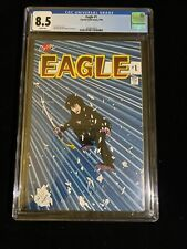 Crystal Publications, Eagle #1, 9/86, CGC 8.5 White Pages, 2018