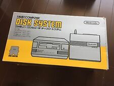 RARE FIRST EDITION Famicom Disk System(HVC-022) Console Boxed tested NEW BELT
