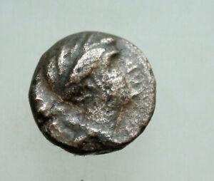 SELEUKID KINGS of SYRIA Seleukos III. 226-223 BC.Head of Apollo