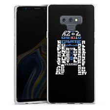 Samsung Galaxy Note 9 Silikon Hülle Case - R2-D2 Typo