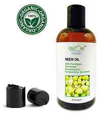 Quane Cosmetics Organic Neem Oil Treat Acne Eczema & Dry Itchy Scalp & Skin 8 oz
