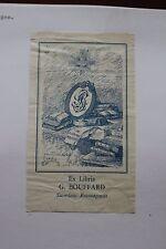 ✒ EX LIBRIS Georges Bouffard, prêtre de Rouen par Charles DUBOURG