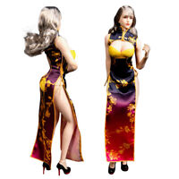 """1/6th Female Figure Cheongsam Clothes Accessories for 12"""" Phicen/TBLeague Body"""