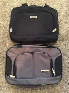 """15"""" Carry-on Travel Tote Bag Boarding Under Seat Luggage lot of 2 new Sonoma"""