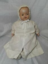 """Vintage Composition Doll Baby Hendren 23"""" Tall  1920's"""