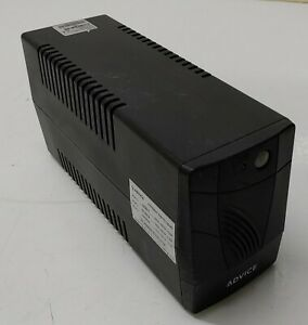 ADVICE Model E-600 Input Output 220Vac- 240Vac Capacity 600VA 360W