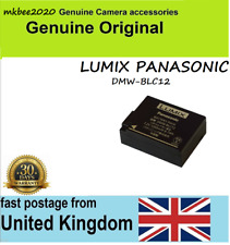 Original Panasonic DMW-BLC12E DMW-BLC12 DMW-BLC12PP Battery For GX8 FZ200GK