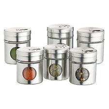 Kitchen Craft Stainless Steel Spice Jars & Racks