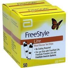 FREESTYLE Lite Teststreifen ohne Codieren 100 St PZN 1801191