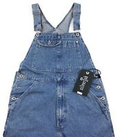 Levis 1990s Silvertab Oversized Baggy Denim Overalls Mens Loose Fit Jeans