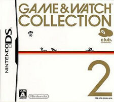 USED Club Nintendo DS Game & Watch Collection 2 JAPAN