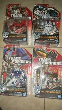 Hasbro Transformers Fall of Cyberton Ultra Magnus Jazz Sideswipe Air Raid Gundam