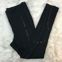 Express Women's Black Stretch Knit Legging Yoga Pants Size Medium