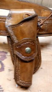 western holster and belt for 357 six shooter