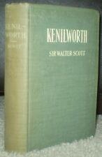 KENILWORTH, by SIR WALTER SCOTT, HURST & COMPANY, SCARCE EDITION, c 1900