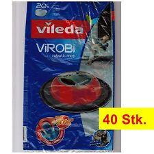 40-Stk. Vileda ViRobi Reinigungstücher | Refill | Ersatz-Staubpads | Sparpack