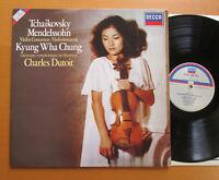 SXDL 7558 Kyung Wha Chung Tchaikovsky Mendelssohn Concertos Charles Dutoit NM