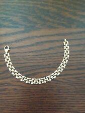 VTG - OTC 10k Gold Panther Pattern Bracelet - BEAUTIFUL