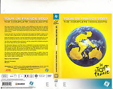 TOUR DE FRANCE 20O7- THE COMPLETE HIGHLIGHTS – DVD, 3-DISC, R-4, LIKE NEW
