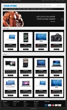 Premium Ecommerce Website Responsive Shopping Cart Store Free Installation