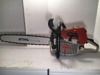 "Stihl 046 Chainsaw with Brand New 20"" bar 046 460 461 044 440"