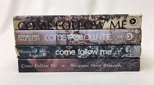 COMPLETE 4 VOLUME SET Come Follow Me by Bhagwan Shree Rajneesh 1970s HCDJs