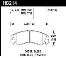 Hawk Performance HB214N.618 Fade Resistant Disc Brake Pads