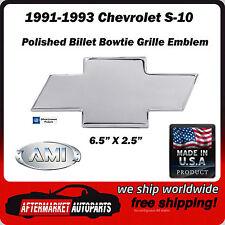 1991-1993 Chevrolet S-10 Polished Bowtie Grille Emblem AMI 96007P