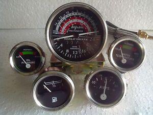 Massey Ferguson Tractor Gauge Tachometer Anti Clockwise