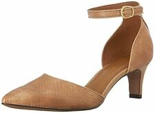 Clarks Women's Crewso Reading D'Orsay Pump, Nude, SIZE 9 M