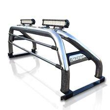 Per adattarsi 16+ VOLKSWAGEN AMAROK Sport Roll bar + BRAKE LIGHT + LED Spot Light Bar