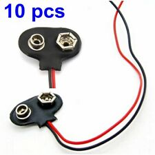 10 pcs Battery Clip Connector Insulated Clamp 75mm 30A 2-0015