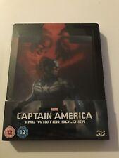 Zavvi Captain America The Winter Soldier Lenticular Steelbook