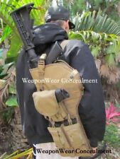 Tactical Rifle Case Gun and Mag Pouch Included Tan plus FREE GIFTS